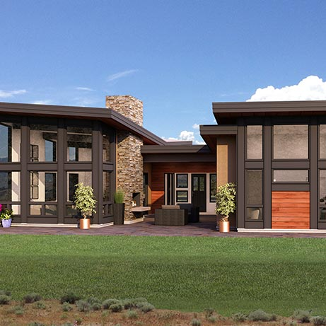 The Alexander Floor Plan by Point Zero Homes