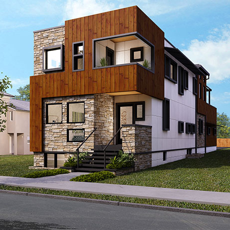 The Baldwin Floor Plan by Point Zero Homes