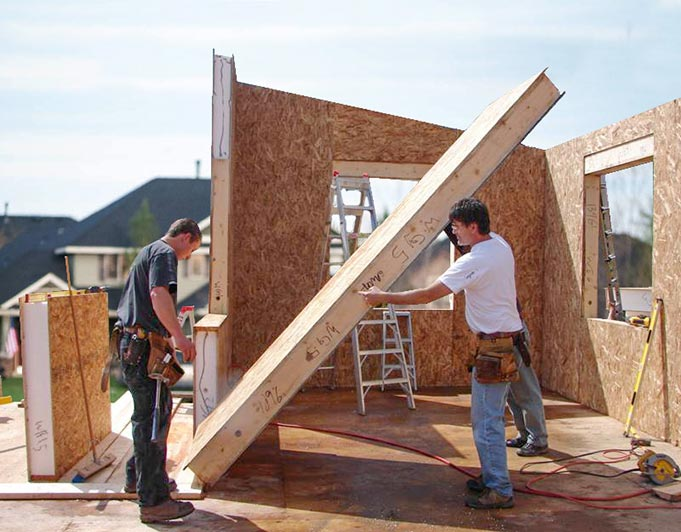 Point zero high performance homes for Sip home construction