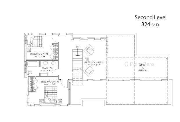 Manchester Second Level Floor Plan
