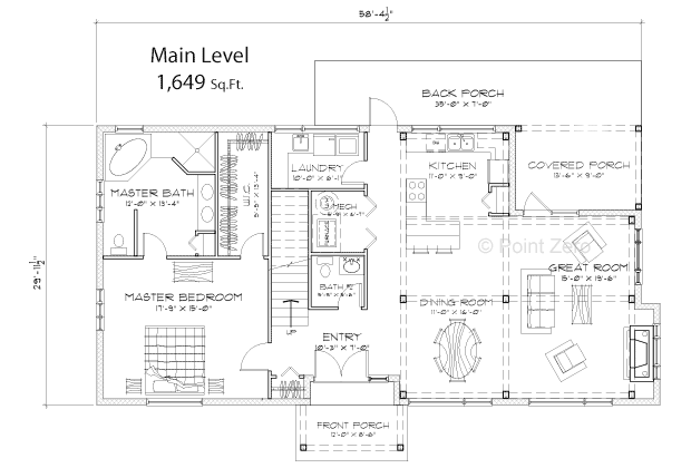 Manchester Main Level Floor Plan