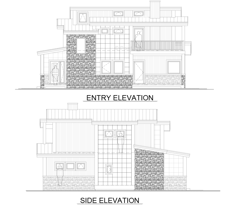 West Port Elevations