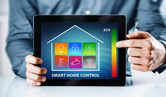 tablet smart home control